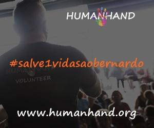 HUMAN HAND Campanha #Salve1VidaSaoBernardo